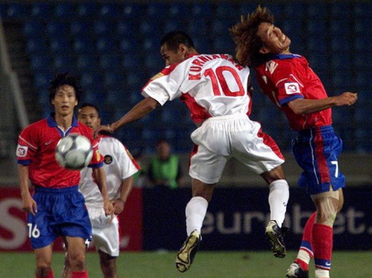 SOCCER-ASIA2000-INDONESIA-S.KOREA